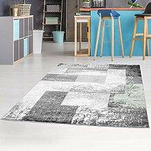 carpet city Teppich Flachflor Moda, Meliertes,