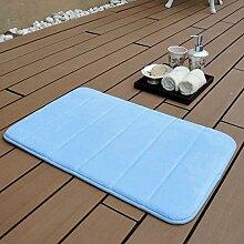 carpet Coral langsam Rebound-Speichermatte absorbierenden Matten Fußmatte Badematte Matte weich und bequem Umwelt (Größe: 40 * 60 cm) Bettmatten ( Farbe : # 7 )