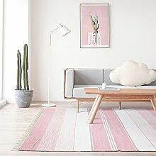 Carpet Creative Fringe Linie Teppich Weich 100%