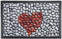 Carpet Diem Fußmatte Soft Heart Herz 45x75cm