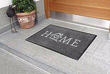 Carpet Diem Fußmatte Soft Home 50x75cm Velour