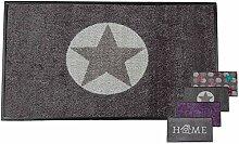 Carpet Diem Fussmatte Soft Stern 50x75cm Velour
