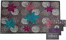 Carpet Diem Schmutzfangmatte Soft Flower 50x75cm