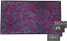 Carpet Diem Schmutzfangmatte Soft Ranke 50x75cm