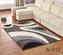 carpet Encryption Thick helle Seide Muster Sofa Wohnzimmer Couchtisch Teppich Schlafzimmer Nachtvoll Shop-Eingang Anti-Rutsch-Teppich Bettmatten ( farbe : B9 , größe : 1.2M*1.7M )