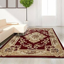 carpet Europäische Art-einfaches Wohnzimmer-Schlafzimmer-schwimmende Fenster-Decke, Matten-feiner Teppich Bettmatten ( Farbe : A5 , größe : 120*170cm )