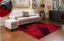 carpet Europäischer Kaffeetisch Teppich Wohnzimmer Schlafzimmer Nachttischdecke Quadrat Balkon Schwimmende Decke Teppich Bettmatten ( Farbe : B2 , größe : 140CM×200CM )