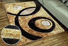 carpet Europäischer Teppich 3D Couchtisch Teppich Wohnzimmer Schlafzimmer Teppich Rechteck Voll Voll Dick Bettdecke Decke Bettmatten ( Farbe : B6 , größe : 120*180cm )
