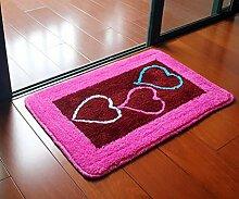 Carpet Matte / saugfähige Tür Mat / Bad Mat Non-slip water absorption ( größe : 60*90cm )