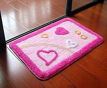 Carpet Matte / saugfähige Tür Mat / Bad Mat Non-slip water absorption ( größe : 40*60cm )