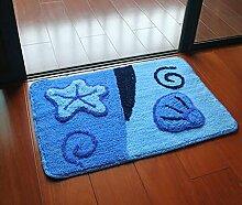 Carpet Matte / saugfähige Tür Mat / Bad Mat Non-slip water absorption ( größe : 80*120cm )