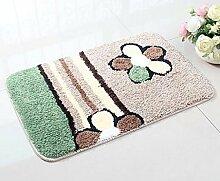 Carpet Mikrofasermatte / saugfähige Badezimmer-Matte Non-slip water absorption ( größe : 40*60cm )