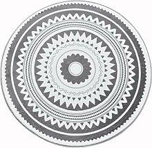 CarPET Runder Teppich Nordic Couchtisch