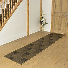 Carpet Runners UK Patch braun–Hall, Treppe