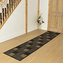 Carpet Runners UK Patch schwarz–Hall, Treppe