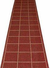 Carpet Runners UK Rot kariert–Hall, Treppe
