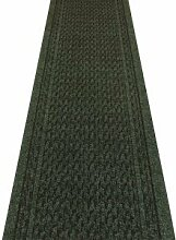 Carpet Runners UK Rumba dunkelgrün–Hall,