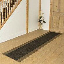 Carpet Runners UK Wackelturm braun–Hall,