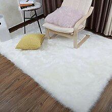 CarPET Schaffell Faux Pelz Teppich Weichen
