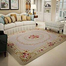 carpet Teppich, einfaches Wohnzimmer Teppich, Couchtisch voll von Schlafzimmer Teppich, Bedside Teppich, Door Sofa Teppich Bettmatten ( Farbe : A , größe : 130*190CM )