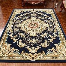 carpet Teppich, europäisches Wohnzimmer TeppichBedside Bett TeppichSimple Modern Fashion Teppich, Europäische Stil Chinesisch Tür Couchtisch Teppich Bettmatten ( größe : 0.8 X 1.0 M )