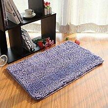 carpet Teppich Microfaser Wohnzimmer Venture Schlafzimmer Terrasse Schwimmende Fenster Bedside Matratze Tür Pad Teppich Bettmatten ( Farbe : A7 , größe : 60*120cm )