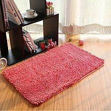 carpet Teppich Microfaser Wohnzimmer Venture Schlafzimmer Terrasse Schwimmende Fenster Bedside Matratze Tür Pad Teppich Bettmatten ( Farbe : A8 , größe : 40*60cm )