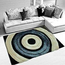carpet Teppich Wohnzimmer Couchtisch Schlafzimmer Bett voll von dicken Teppich modern einfach Bettmatten ( Farbe : A , größe : 120*180cm )