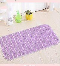 Carpet Toiletten-Matte / Türmatte / Osmanen / Badezimmer Wasserdichte Matte / Badematten Non-slip water absorption ( farbe : 2# , größe : 36*72cm )