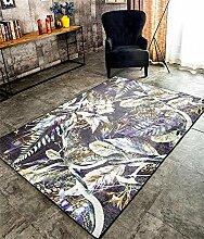 CarPET TRRE Amerikanische pastoralen Wohnzimmer Schlafzimmer Teppich Sofa einfach im japanischen Stil haarlosMatte Wohnzimmer Schlafzimmer (größe : 160CM×230CM)