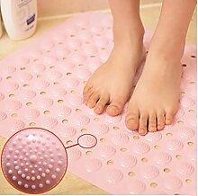 Carpet WC Nicht - Rutschmatte Badezimmermatte Badewanne Mat Dusche Zimmer Mat Massage-Fuss-Auflage-Badematte Non-slip water absorption ( farbe : 1 , größe : 38*70cm )