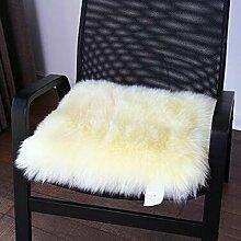 carpet Winter-dickere Kissen, warme Sofa-Kissen, schwimmende Fenster-Auflage, Kissen, Auto-Kissen Bettmatten ( Farbe : A1 , größe : 40X40cm )