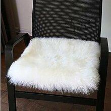 carpet Winter-dickere Kissen, warme Sofa-Kissen, schwimmende Fenster-Auflage, Kissen, Auto-Kissen Bettmatten ( Farbe : A2 , größe : 45x45cm )