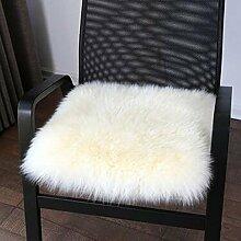 carpet Winter-dickere Kissen, warme Sofa-Kissen, schwimmende Fenster-Auflage, Kissen, Auto-Kissen Bettmatten ( Farbe : A2 , größe : 50X50cm )