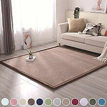 Carpet Wohnzimmer Teppich Shaggy, 120x160cm,