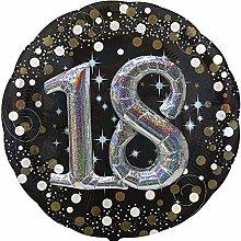 Carpeta Folienballon * 18. Geburtstag * mit