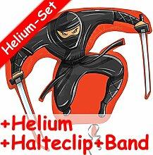 Carpeta Folienballon Set * Ninja KÄMPFER * +