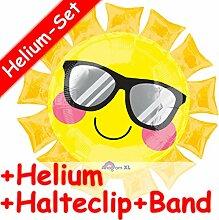 Carpeta SuperShape Folienballon * Gelbe Sonne * +