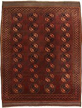 CarpetFine: Afghan Teppich 290x378 Rot -