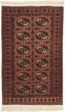 CarpetFine: Afghan Teppich 78x126 Braun -
