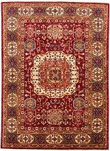 Carpetfine: Aryana Teppich 150x204 - Multicolor - Handgeknüpft - Pakistan - Rechteck