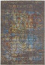 CarpetFine: Dyna Teppich 80x150 cm Braun -