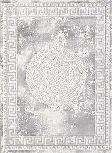 CarpetFine: Farahi Teppich 120x160 cm Grau -