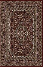 Carpetfine: Karrakesh Rot 160x230 cm Teppich Rot 160x230 cm - Polypropylen - Maschinell geknüpft - Ornamen