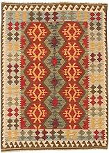 CarpetFine: Kelim Afghan Teppich 144x196