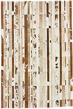 CarpetFine: Kuhfell Teppich 198x299 Beige,Braun -