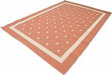 Carpetfine: Ruggy Teppich 200x290 - Braun -