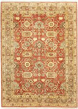 Carpetfine: Saha Teppich Rot 250x300 cm - - Handgeknüpft -