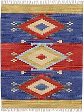 carpetfine Teppich Kelim Svea, rechteckig, 5 mm