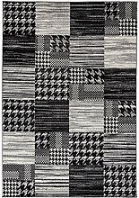Carpetforyou Designer moderner Kurzflor Teppich